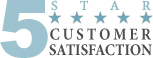 5 Star Customer Satisfaction